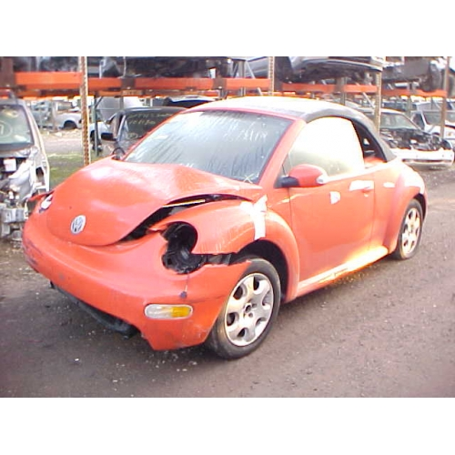 vw beetle convertible orange. Model: 2003 Volkswagen Beetle