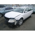 Used 2003 Volkswagen Passat Parts - White with black interior, V6 engine, automatic transmission