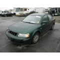 Used 2000 Volkswagen Passat Parts - Green with gray interior, 1.8 Turbo, automatic transmission
