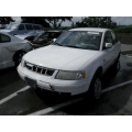 Used 2000 Volkswagen Passat Parts - White with tan interior, 4 cylinder, automatic transmission