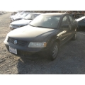 Used 2001 Volkswagen Passat GLS Parts - Black with Gray interior, 4 cylinder engine, automatic transmission