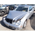 Used 2003 Mercedes 211 Chassis E320 Parts - Silver with gray interior, 6 cylinder engine, automatic  transmission