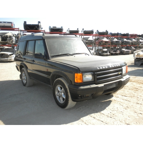 Parts Used: Land Rover Discovery Parts Used