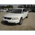 Used 1999 Volkswagen Passat  Parts - White with black interior, 1.8L Turbo engine, automatic transmission