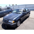 Used 1997 Mercedes 202 Chassis C230 Parts - Blue with tan interior, 4 cylinder engine, automatic  transmission