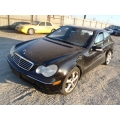Used 2004 Mercedes 203 Chassis C230 Parts - Black with black interior, 4 cylinder engine, automatic  transmission