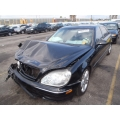 Used 2001 Mercedes 220 Chassis S430 Parts - Black with black interior, 8 cylinder, manual transmission