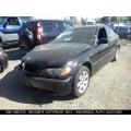 Used 2004 BMW 325i Parts - Black with black interior, 6 cylinder engine, automatic transmission