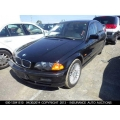 Used 2001 BMW 330i Parts - Black with tan interior, 6 cylinder engine, automatic transmission