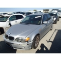Used 2003 BMW 325i Parts - Silver with black interior, 6 cylinder engine, automatic transmission