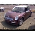 Used 2003 Mini Cooper Parts - Burgundy with black interior, 4 cylinder engine, automatic transmission