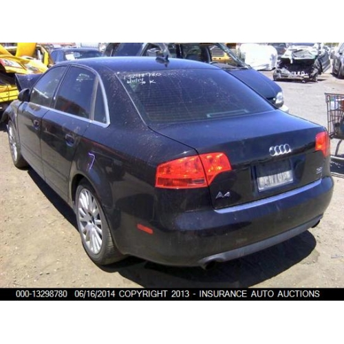 Used 2006 Audi A4 Parts Car   Black With Black Interior, 1.8L Turbo,  Automatic Quattro Transmission
