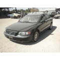 Used 2001 Volvo S60 Parts - Black with gray interior, 4 cylinder, Automatic transmission
