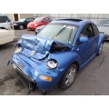 Used 2000 Volkswagen Beetle Parts - Blue with gray interior, 1.8L engine, automatic transmission