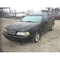 Used 1998 Volvo S70 Parts - Black with black interior, 4 cylinder, Automatic transmission