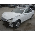 Used 2001 Mercedes 203 Chassis C320 Parts - White with gray interior, 6 cylinder engine, automatic transmission*