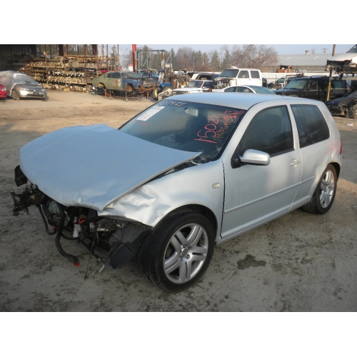 Used 2000 Volkswagen Golf Parts Silver With Black Interior 4
