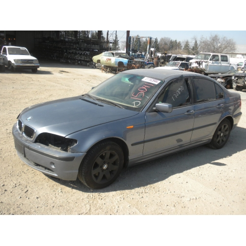 Used 2003 Bmw 325i Parts Teal With Tan Interior 6 Cylinder Engine Automatic Transmission