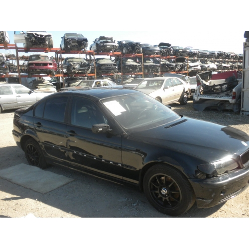 Used 2003 Bmw 325i Parts Black With Black Interior 6 Cylinder Engine Automatic Transmission