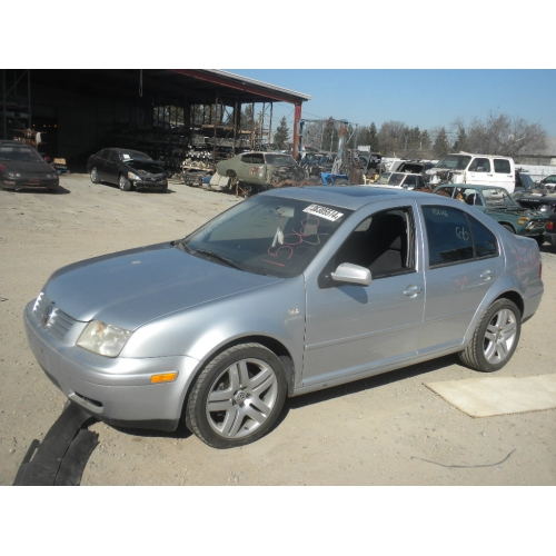 Used 2002 Volkswagen Jetta Parts Silver With Black Interior 4 Cylinder Engine Automatic