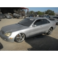 Used 2002 Mercedes 220 Chassis S430 Parts - Silver with black leather interior, 8 cylinder engine, automatic transmission*
