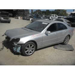 Used 2003 Mercedes 203 Chassis C230 Parts - Silver with  black interior, 6 cylinder engine, automatic  transmission*