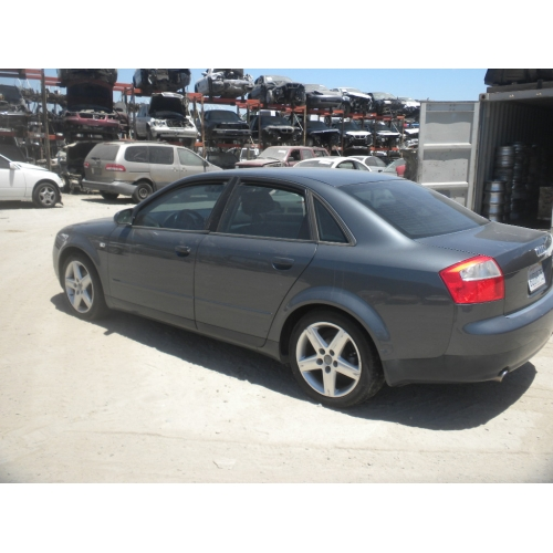 used 2002 audi a4 parts car teal with black interior 1 8l turbo automatic quattro transmission. Black Bedroom Furniture Sets. Home Design Ideas