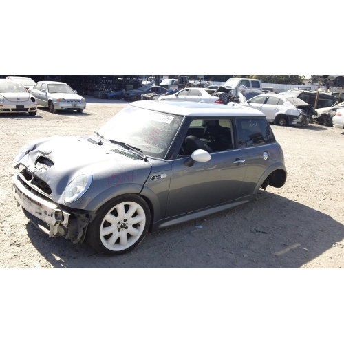 Used 2003 Mini Cooper S Parts Gray With Black Interior 4 Cylinder