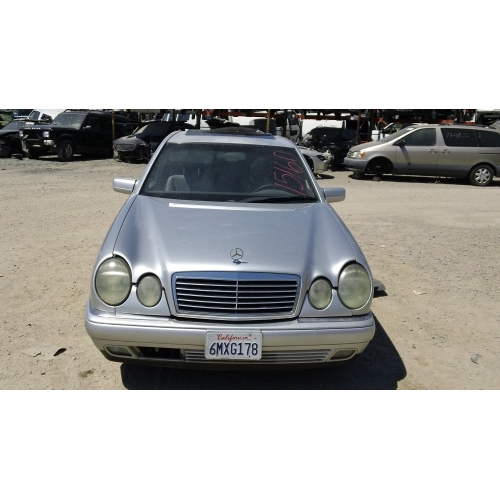 Used 1997 mercedes 210 chassis e420 parts silver with tan for 1997 mercedes benz e420 parts