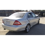 Used 2005 Mercedes 203 Chassis C230 Parts - Silver with gray interior, 6 cylinder engine, automatic  transmission