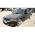Used 2001 BMW 330i Parts - Black with black interior, 6 cylinder engine, automatic transmission