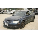 Used 2001 Volkswagen Passat Parts - Gray with tan interior, 6 cylinder engine, automatic transmission