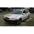 Used 2001 Volvo S40 Parts - White with gray interior, 4 cylinder 1.9T, Automatic transmission