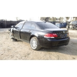 Used 2008 BMW 750Li Parts - Black with black interior, 8 cylinder engine, automatic  transmission