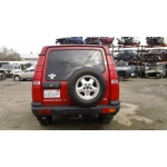 Used 2000 Land Rover Discovery Parts Car - Red with beige interior, 8 cylinder, automatic transmission