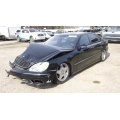 Used 2002 Mercedes 220 Chassis S430 Parts - Black with black interior, 8 cylinder, manual transmission