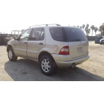 Used 2001 Mercedes 163 Chassis ML430 Parts Car- Gold with tan interior, 8 cylinder, automatic  transmission