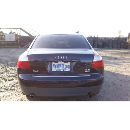 Used Audi A4 Quattro: Black With Brown Interior, 1