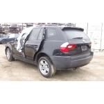 Used 2005 BMW X3 Parts - Black with black interior, 6 cylinder engine, automatic transmission