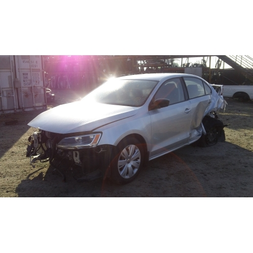 Used 2011 Volkswagen Jetta Parts Gray With Black Interior 2 0l Engine Automatic Transmission