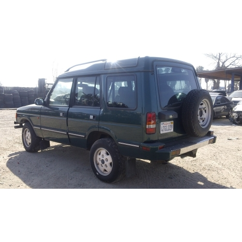Land Rover Discovery 1998 Full Width: Used 1998 Land Rover Discovery Parts Car