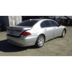 Used 2003 BMW 745i Parts - Silver with black interior, 8 cylinder engine, automatic transmission