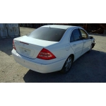 Used 2002 Mercedes 203 Chassis C240 Parts - White with tan interior, 6 cylinder engine, automatic transmission*