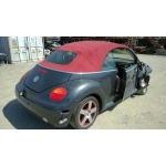 Used 2005 Volkswagen Beetle Parts - Black with red interior, 2.0L engine, automatic transmission*