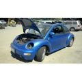 Used 2000 Volkswagen Beetle Parts - Blue with black interior, 2.0L engine, 5 speed manual transmission*