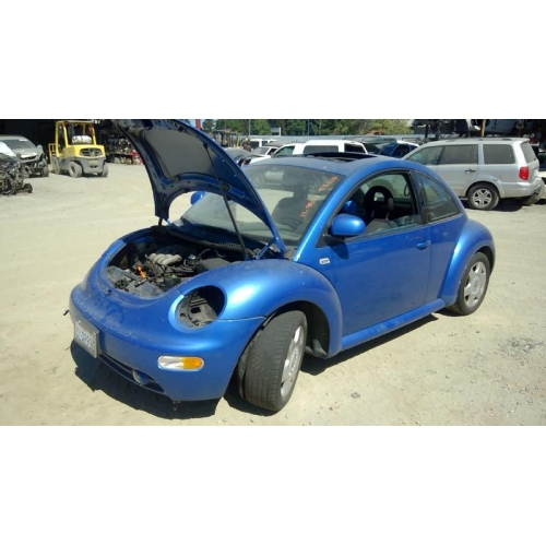 used 2000 volkswagen beetle parts - blue with black interior, 2.0l
