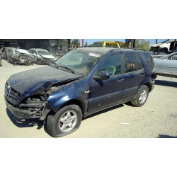 Used 2000 Mercedes 163 Chassis ML320 Parts Car- Blue with gray interior, 8 cylinder, automatic  transmission*