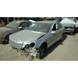 Used 2002 Mercedes 203 Chassis C240 Parts - Silver with black interior, 6 cylinder engine, automatic transmission*