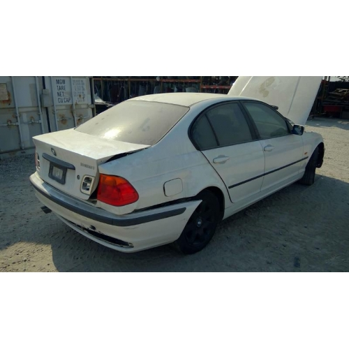 used 2001 bmw 325i parts white with beige interior, 6 cylinder