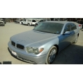 Used 2003 BMW 745Li Parts - Silver with Black leather interior, 8 cylinder engine, automatic  transmission*